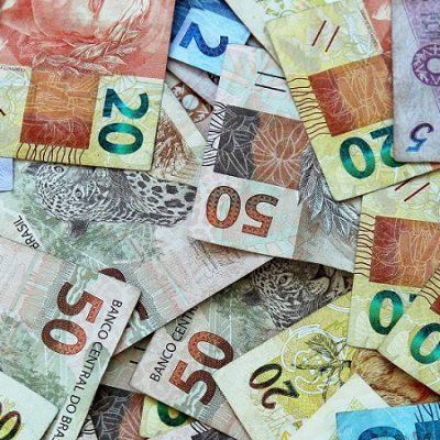 Ilustração dinheiro em espécie