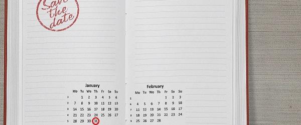 ilustração calendário